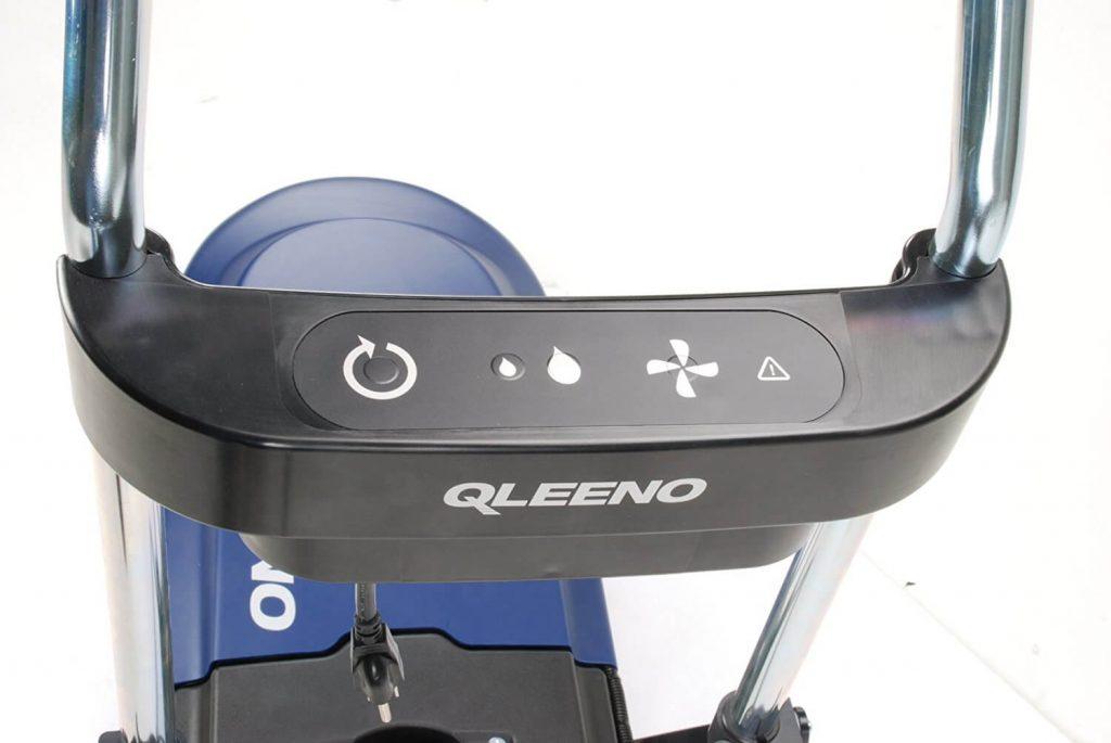 Controles maquina fregadora industrial con sistema eco