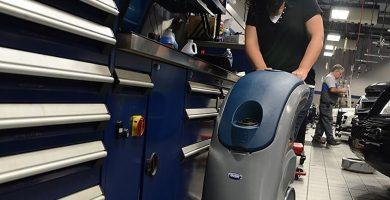 Alquilar máquina fregadora industrial