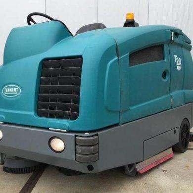 Fregadora de suelos Tennant T20 alquiler de máquinas y ofertas